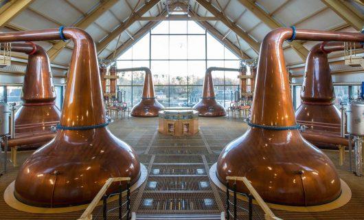 Whiskey Destillerien Schottland