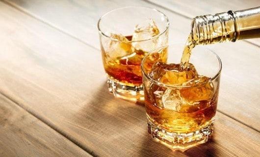 Kalorien von Whiskey