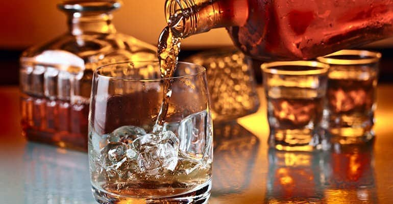 französischer Whiskey